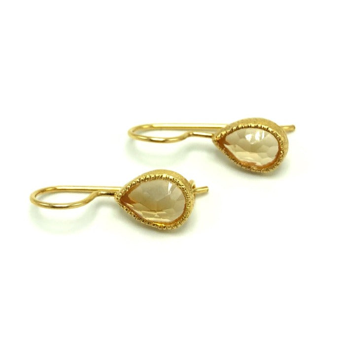 Tita Citrine Earrings