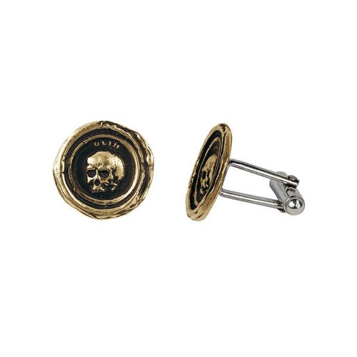 What Once Was Cufflinks-Bronze
