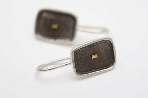 Grey Windows Earrings