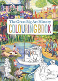 The Great Big Art History Coloring Book