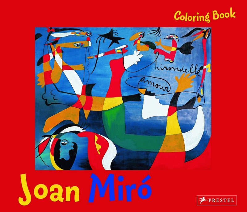 Joan Miro Coloring Book