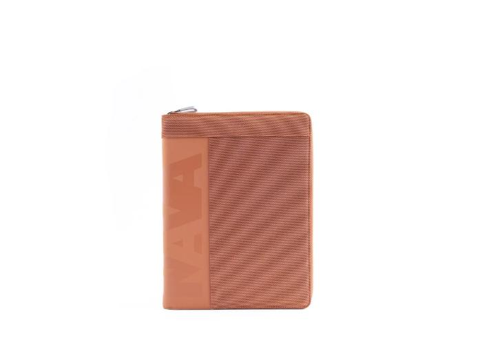 Portfolio Zip Orange/Grey