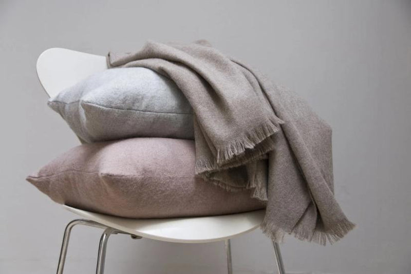 Liam Throw-Soft Grey