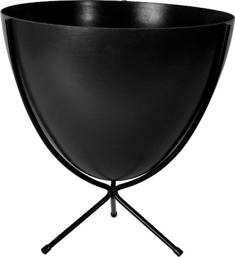 Mini Retro Bullet Planter-Black