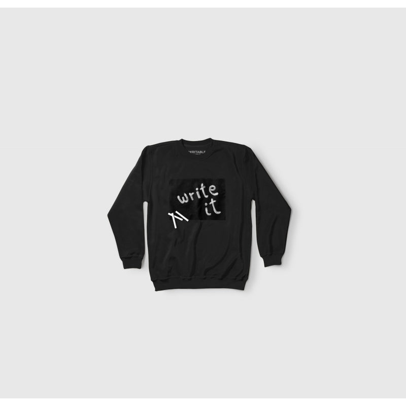 Sweatshirt Black-Large