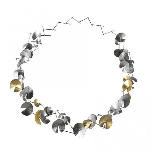 Marina Silver and Gold Necklace