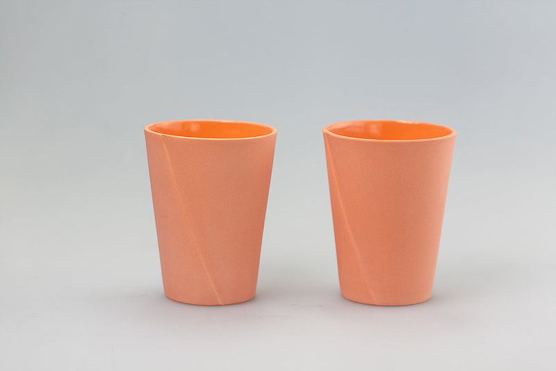 Maeko Orange Set/4 Glasses