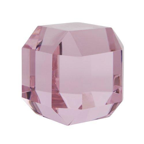 Diamond Paperweight-Pale Rose