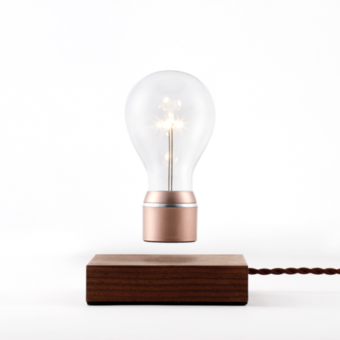 Flyte Buckminster Floating Light Bulb Copper Cap