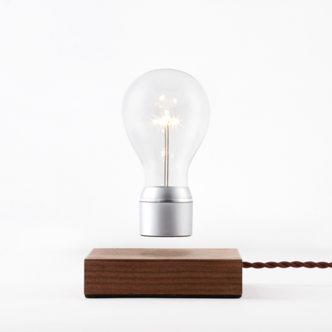 Flyte Manhattan Floating Light Bulb Chrome Cap
