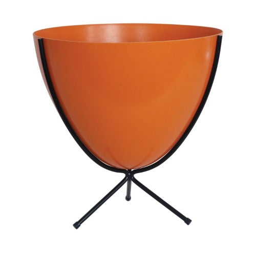 Retro Bullet Planter-Hot Orange