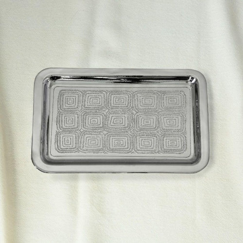 Kai Small Nickle Plated Tray