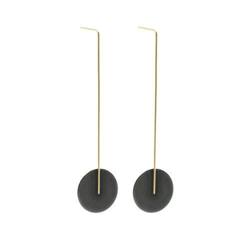 Kyla Katz Large Circle Drop Earrings