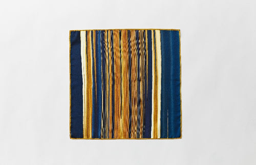 London Blue Pocket Square Yen Ting Cho