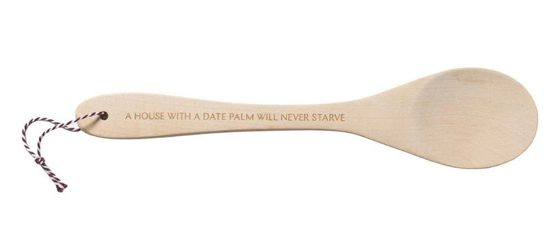 Date Palm Wooden Spoon Michael Rakowitz