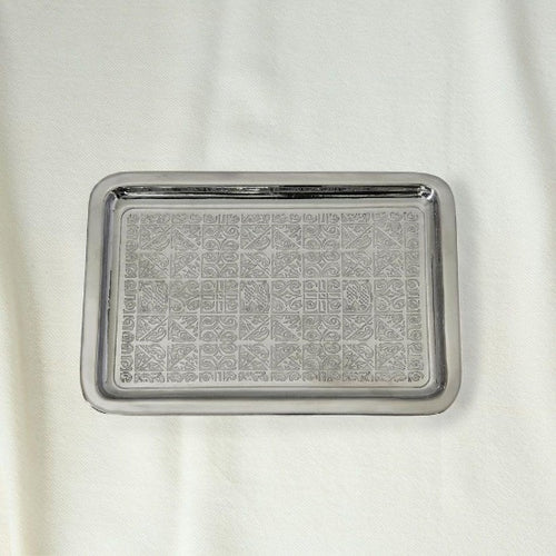 Ocean Large Nickle Plated Tray