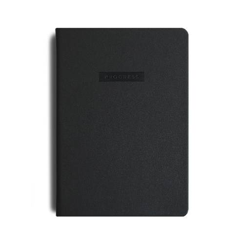 Progress Journal MiGoals black
