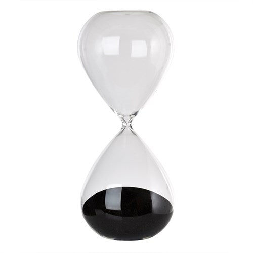 Sandglass Ball Black-Large