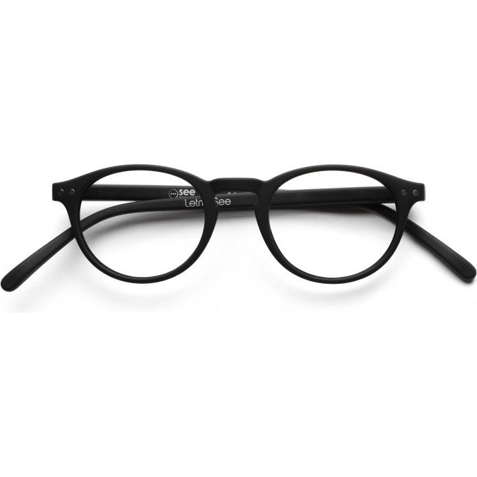 Reading Glasses A Black 1.00