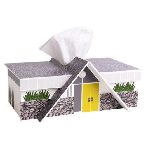House Tissue Box Cover-Swiss Miss