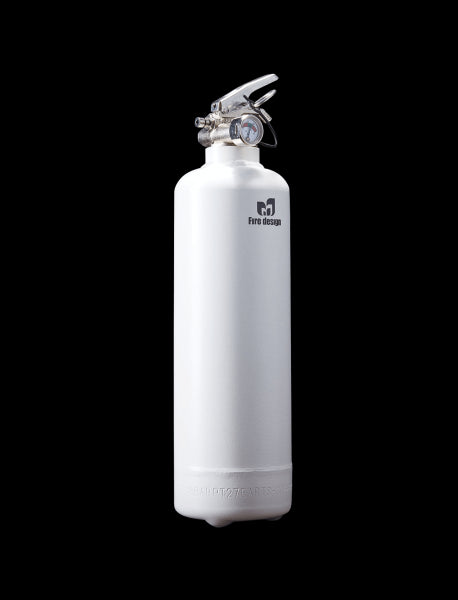 White Fire Extinguisher