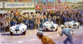 Cunninghams at Le Mans 1952