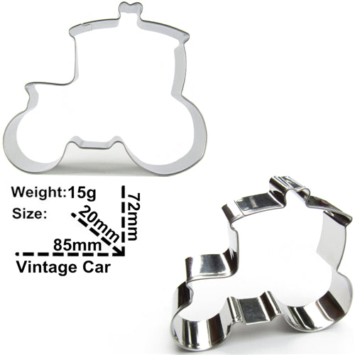 Vintage Car Cookie Cutter, 5 Designs