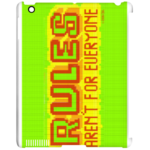 Rules - iPad Clip Case