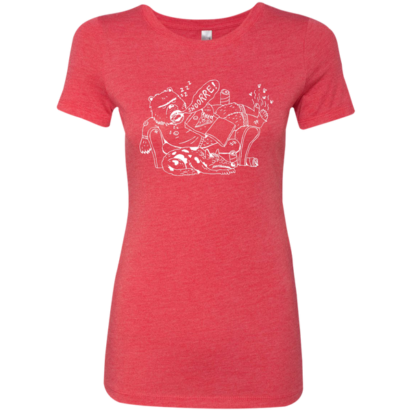 ms_08  Next Level Ladies Triblend T-Shirt