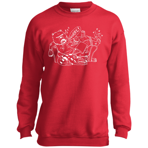 Snoring - Youth Crewneck Sweatshirt