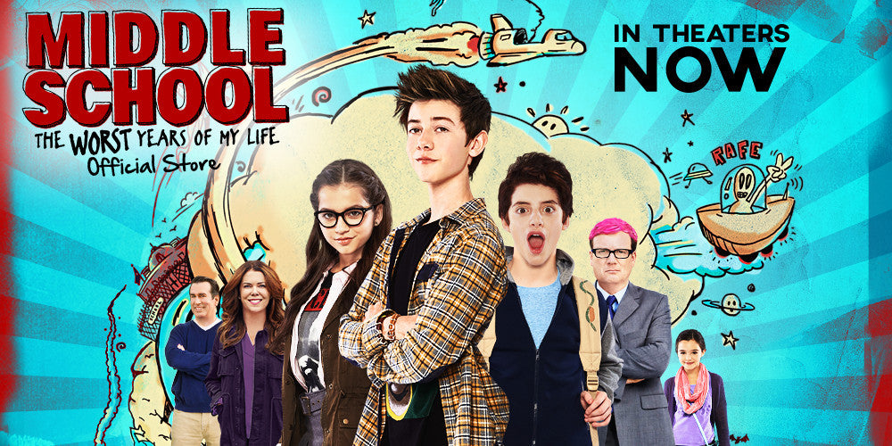 MIDDLE SCHOOL MOVIE - In Theaters October 7!