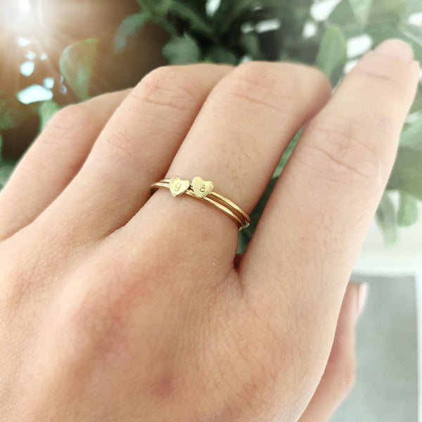 Little Love Heart Ring - Ekalake Handmade Jewellery