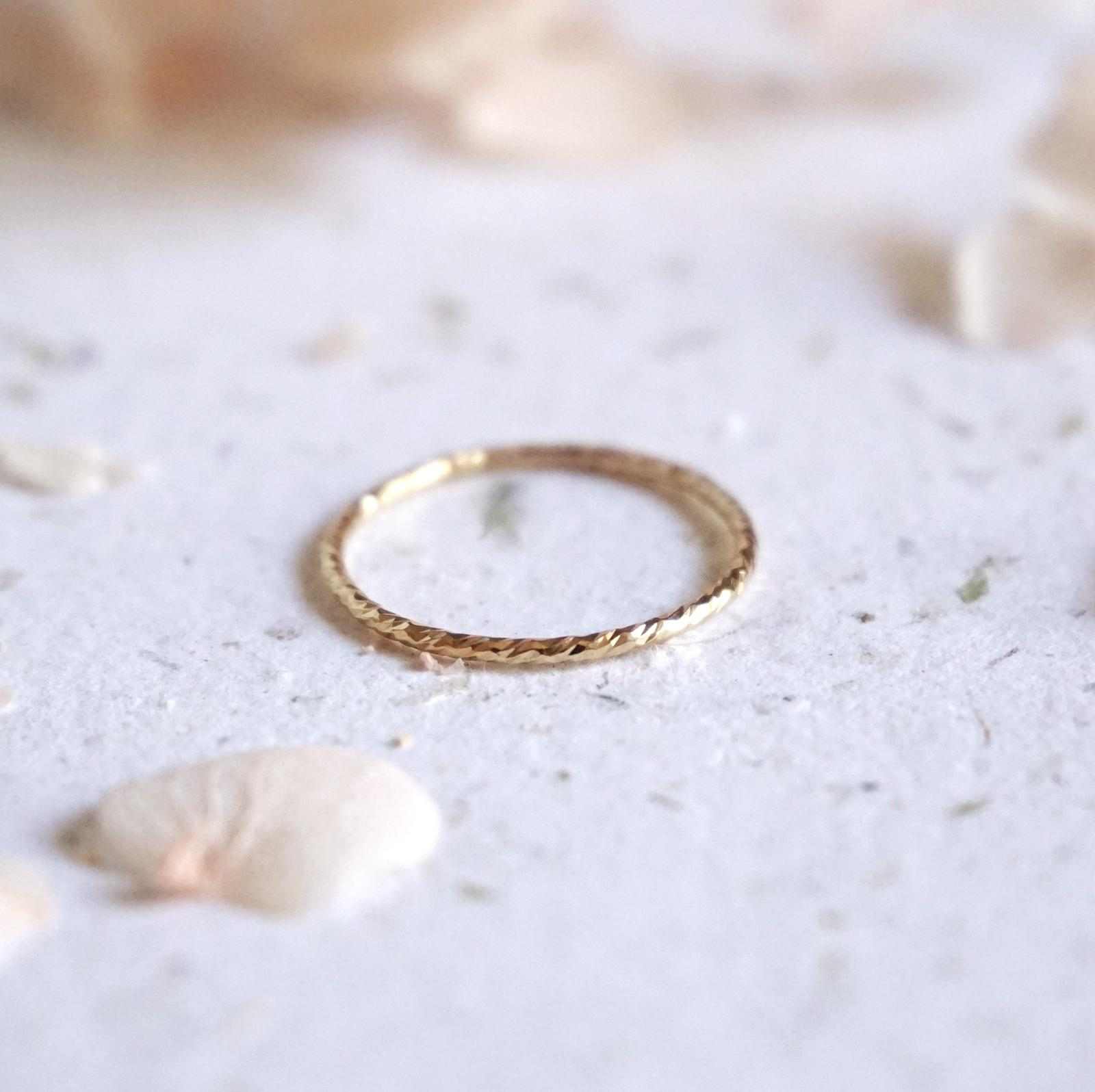 Dainty Sparkle Stacking Ring