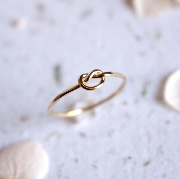 Little Love Knot Stacking Ring