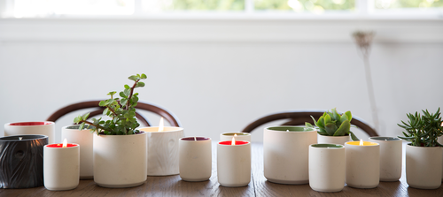 REUSE: TURNING YOUR EMPTY CANDLE CONTAINER INTO A PLANTER
