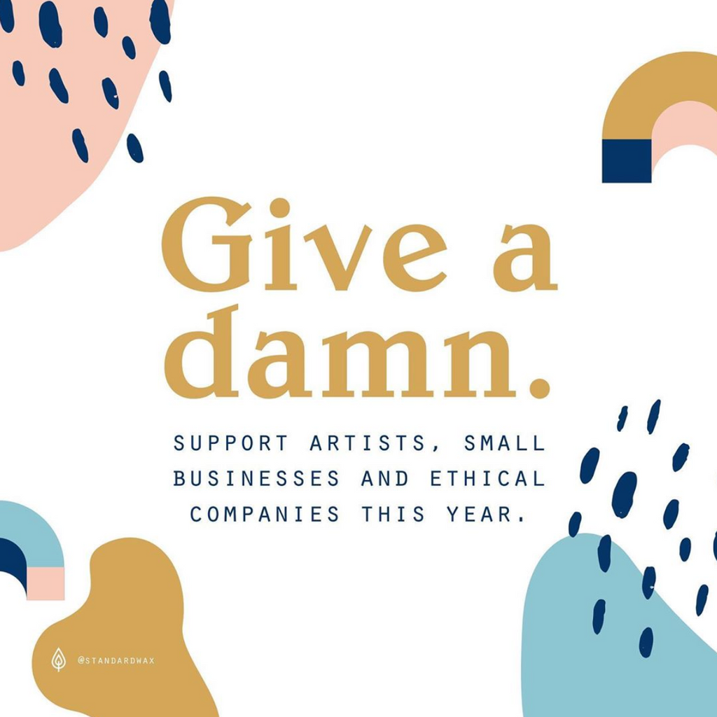 Give a damn: why it's important to support good people.