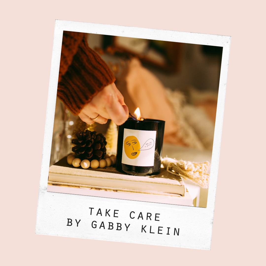 take care candle by standard wax