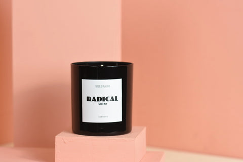 standard wax + wildfang private label candles