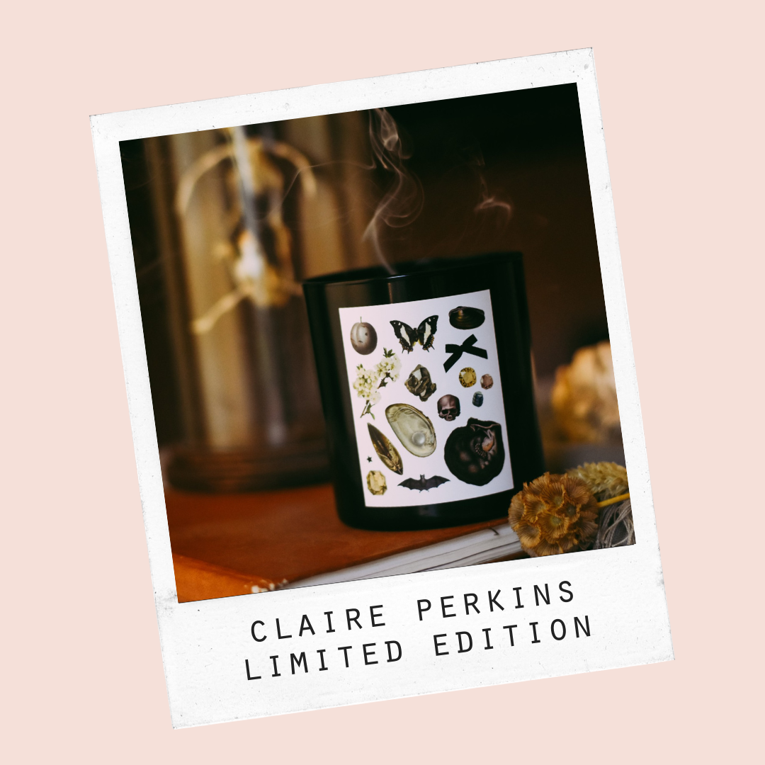 Claire Perkins Specimens Candle by Standard Wax