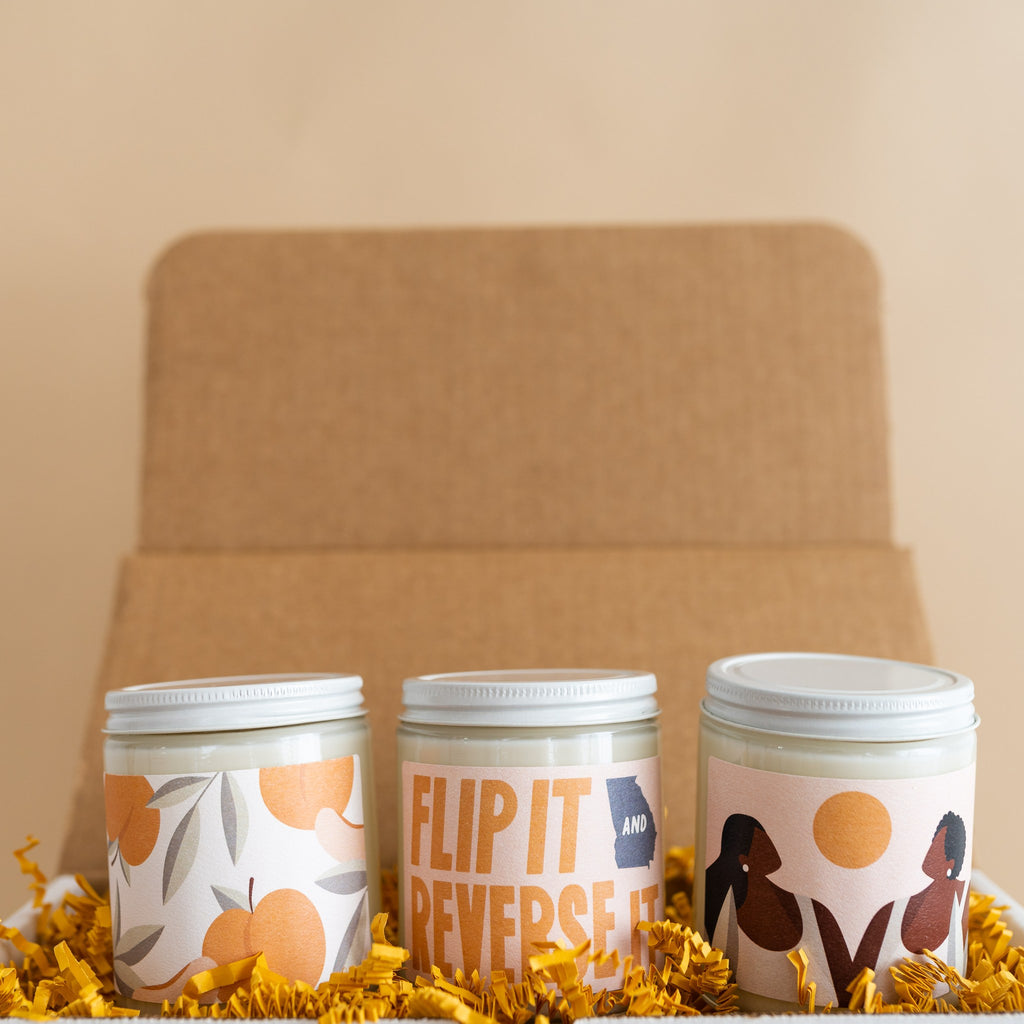 gifts that give back - standard wax candles