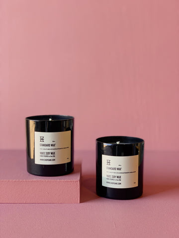 private label candles and custom candles by standard wax
