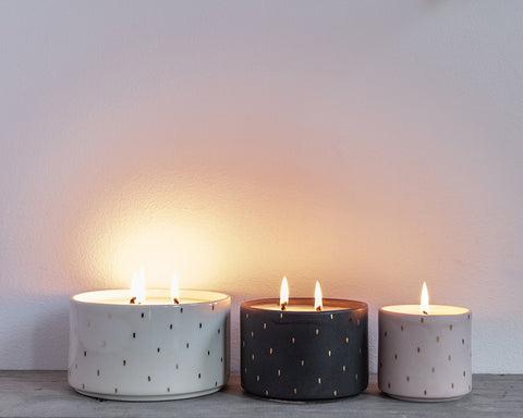 standard wax candles tandem ceramics exclusive launch