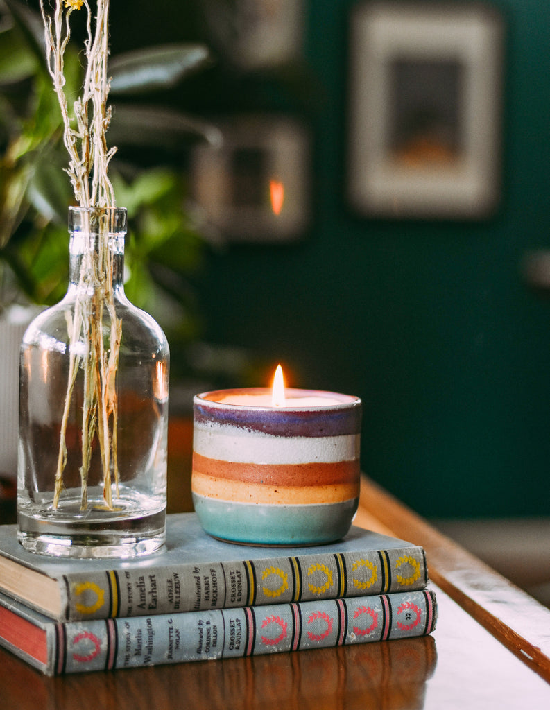heir ceramics candle