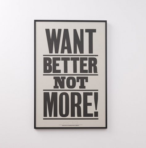 want better not more print by schoolhouse electric