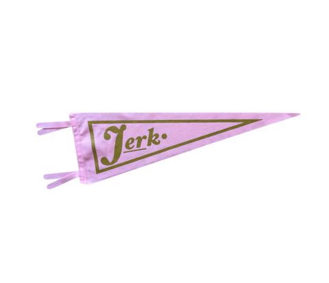 jerk pennant by bermuda press