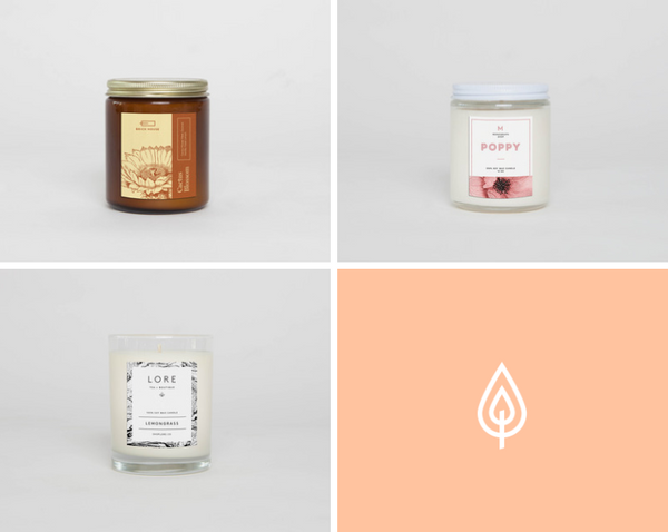 custom and private label candles custom client gifts