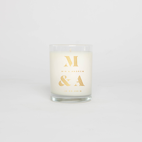standard wax custom candles and private label candles