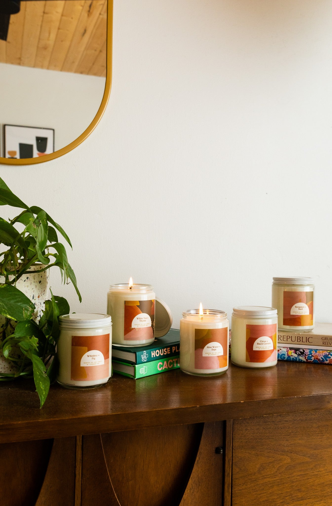 Standard Wax Candles - Simple Standards