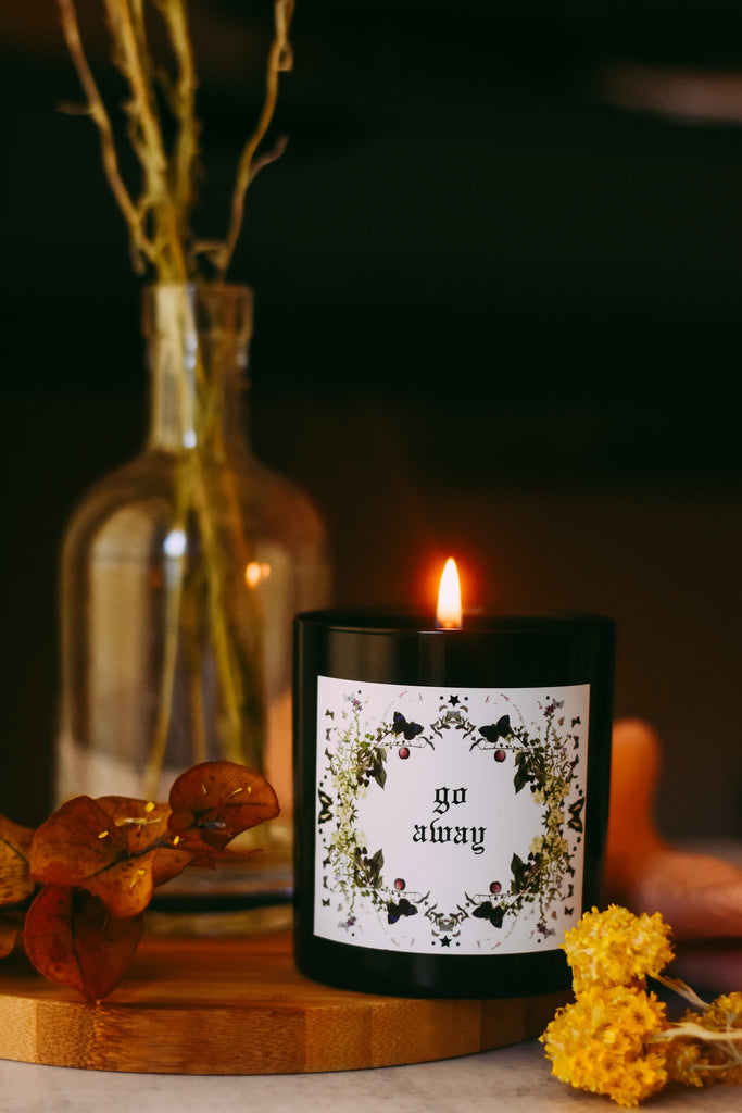 claire perkins go away candle