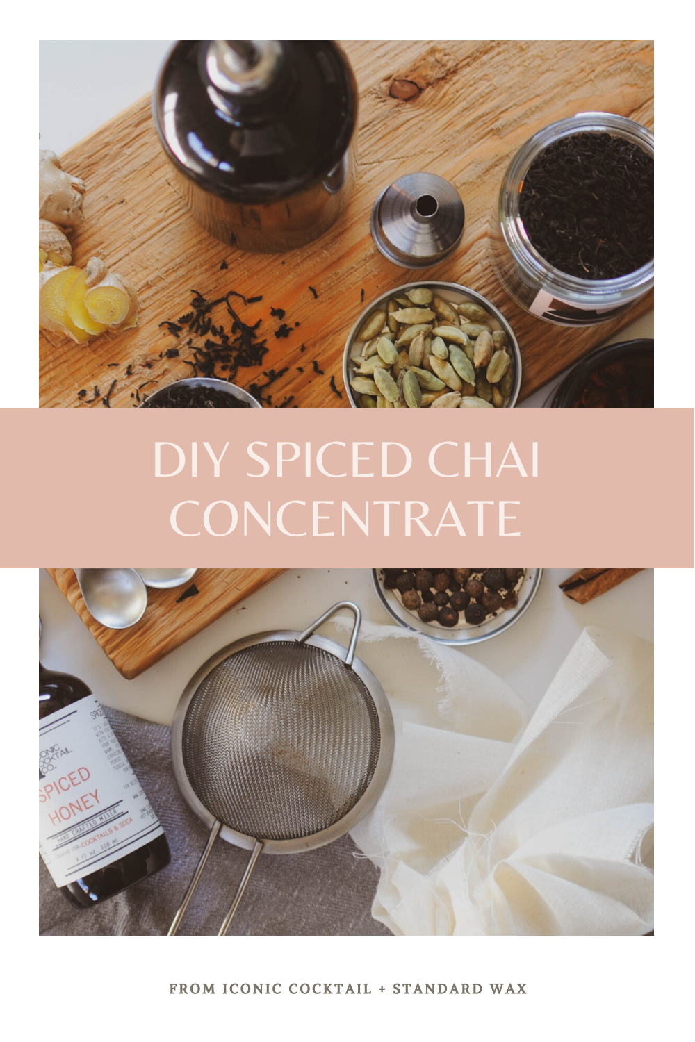 DIY Spiced Chai Concentrate